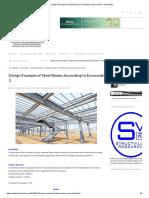 Design Example of Steel Beams According to Eurocode 3 - Structville