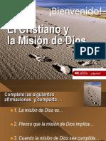 Lwcf El Cristiano y La Mision de Dios (1)