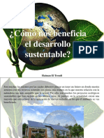 Haiman El Troudi - ¿Cómo nos beneficia el desarrollo sustentable?