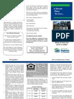 2009 Habitat Brochure