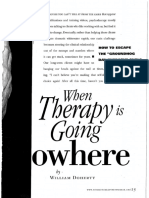When Therapy is Going Nowhere.networker 2013