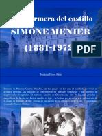 Mariana Flores Melo - La Enfermera Del Castillo, Simone Menier (1881-1972)