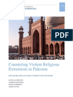 Countering Violent Religious Extremism in Pakistan White Paper