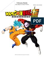 Ultimate Battle Goku vs Jiren Dragon Ball Super