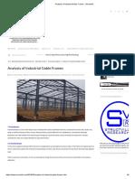 Analysis of Industrial Gable Frames - Structville