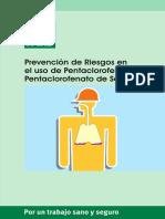 Prevencion de Riesgos en El Uso de Pentaclorofenol