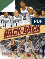 Back to Back - Mississippi State Women's Basketball