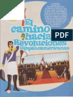 Camino a Las Revoluciones Hispanoamericanas