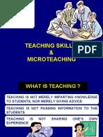 Teaching Skills & Microteaching