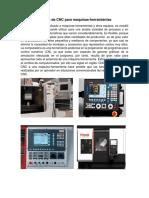 Paneles de CNC Para Maquinas