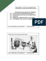 Tema6 - Condensadores y agua de alimentación.