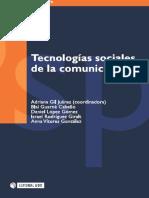 Tecnologias Sociales Comunicacion Libro Uoc