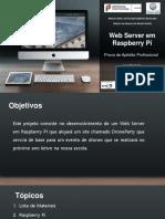 WebServer Em Raspberry PI