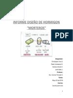 Diseño de Hormigon (Morteros)