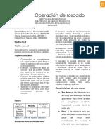 Cuarto Informe de Manufactura