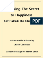 Self Hatred Unlocking the Secret to Happiness