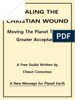 Healing Our Christian Wound Moving the Planet Towards Greater Acceptance