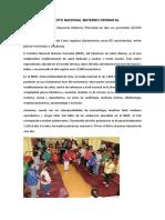 Instituto Nacional Materno Perinatal 1