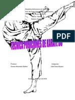 TECNICA DE POSICION DE KARATE  DE   KARATE DO.docx