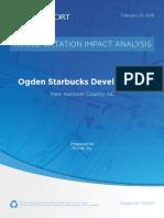 170257 Ogden Starbucks Dev TIA Final 02202018_noseal