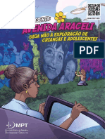 MPT Em Quadrinhos 36 - Avenina Araceli (Diga Não à Exploração de Crianças e Adolescentes)