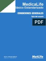 Seguro Basico Estandarizado de Gastos Medicos Condiciones Generales