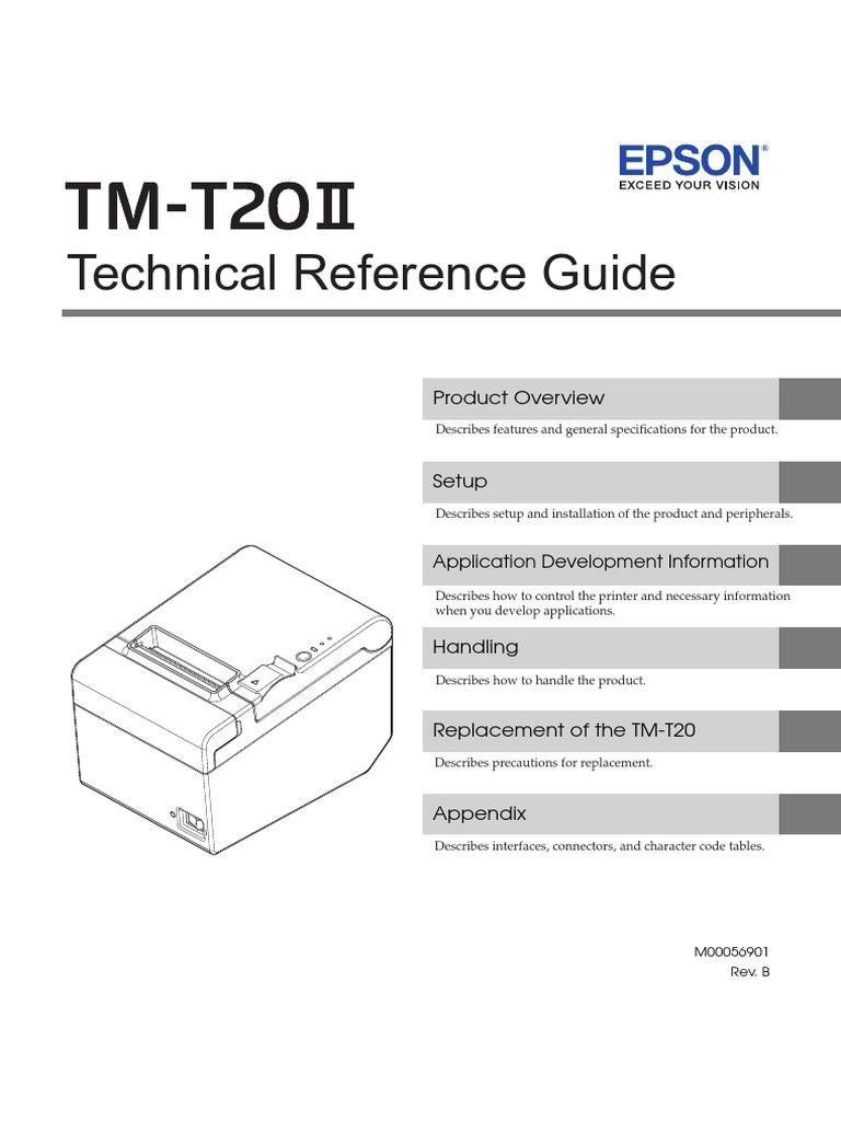 Impresora EPSON-TM-T20II Eng Trg | Printer (Computing) | Point Of Sale