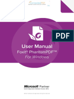 FoxitPhantomPDF9.1 Manual