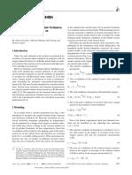 Modelo cinético de la oxidación parcial del propileno