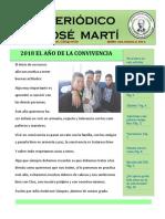 Periódico Escolar José Martí, El Salvador, Enero 2018