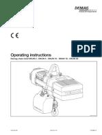 Demag DKUN Hoist Operating Manual