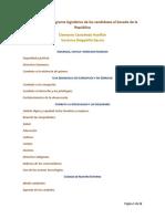 Plataforma Legislativa - Fórmula Senado Movimiento Ciudadano