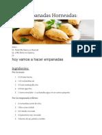 spanish empanadas recipe