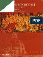 Missa Pontificalis I y II Lorenzo Perosi PDF