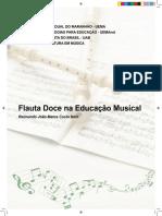 E-Book - Flauta Doce Na Educação Musical