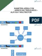 Fotogrametría Aérea Con Vehículos Aéreos No Tripulados