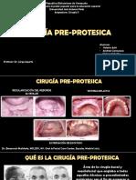Cirugia Pre Protesica