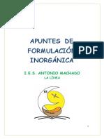 apuntes formulación inorganica