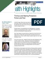 Tinnitus Article 032011