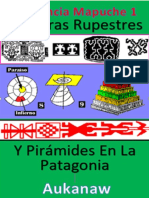 Libro N° 4879. La Ciencia Mapuche 1. Pinturas Rupestres Y Pirámides En La Patagonia. Aukanaw. Colección E.O. Mayo  26 de 2018