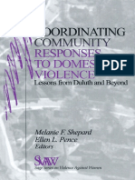 Melanie F. Shepard, Ellen Pence - Coordinating Community Responses to Domestic Violence_ Lessons From Duluth and Beyond