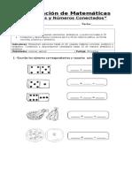 Evaluación de Matemáticas Números Conectados y Sumas Hasta El 20