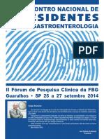 A Gastroenterologia Reflexoes e Perspectivas 2014 Encontro de Residentes_novo_T18QKT