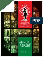 TGIJP Annual Report 2014-2015