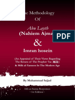 The Methodology of Abu Layth and Imran Hosein Muhammad Sajjad P