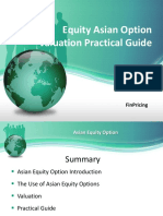 Explaining Equity Asian Option Definition and Valuation