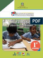 Matemática 1er. Grado