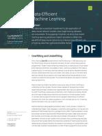 Quadrant Data Efficient Machine Learning Screen