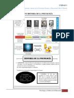 02-Aportes de La Psicología General y Educacional, Breve Historia