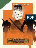 Matem�ticas en los juegos de Rol - Dragones y Mazmorras